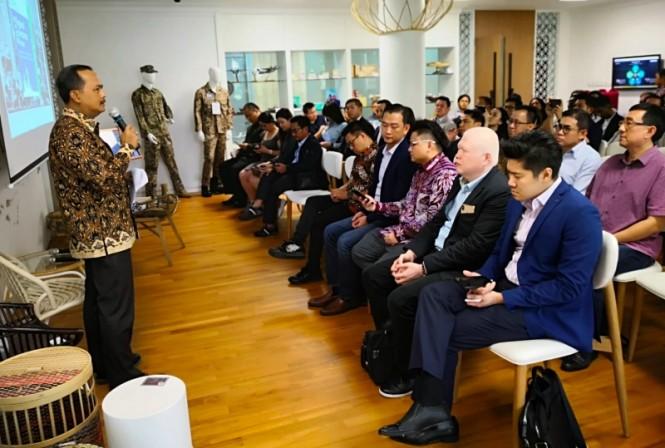 Duta Besar Republik Indonesia di Singapura Ngurah Swajaya mengupas ekosistem digital Indonesia. (Foto: Dok. KBRI Singapura).