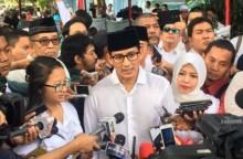 Mahar Politik Sandi Lolos dari  Sanksi Pelanggaran Pemilu