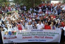 Ratusan Ibu di Bandung Siap Menangkan Jokowi-Ma'ruf