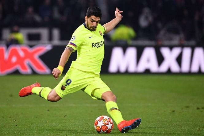 Penyerang Barcelona, Luis Suarez (AFP/Franck Fife)