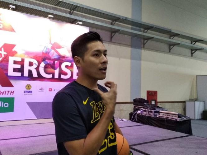 Small forward Stapac Jakarta, Rizky Effendi (Medcom.id/Hasan)