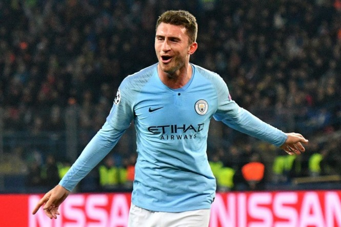 Bek Manchester City, Aymeric Laporte (AFP/Genya Savilov)