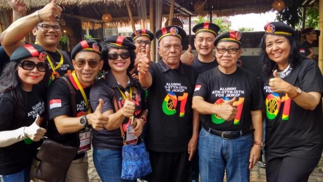 Alumni ISTN mendeklarasikan dukungan kepada pasangan Joko Widodo-Ma'ruf Amin di Pilpres 2019. Foto: Medcom.id/Candra Yuri Nuralam.