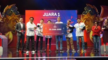 Manado Kirim 2 Wakil ke Grand Final Piala Presiden Esports 2019