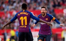 Messi Cetak <i>Hattrick</i>, Barcelona Permalukan Sevilla