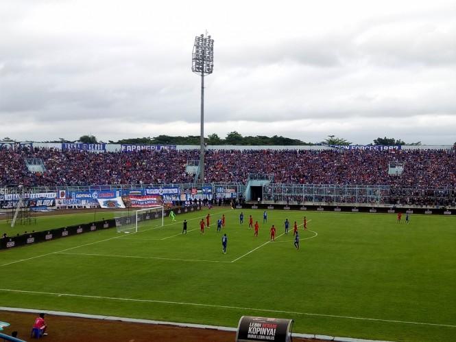 Stadion Kanjuruhan (Medcom.id/Daviq)