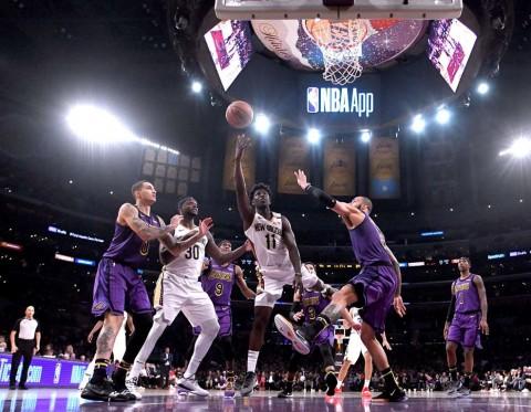 Hasil Pertandingan NBA Hari Ini: Takluk dari Pelicans, Lakers Menjauh dari Zona <i>Playoff</i>