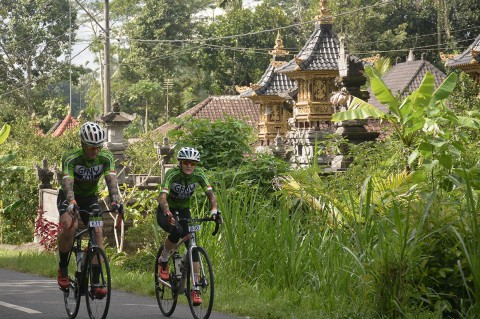 1.530 Pebalap Sepeda Meriahkan GFNY Bali