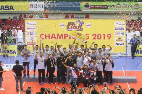 Kalahkan BNI 46, Samator Sabet Juara Proliga Ke-Tujuh