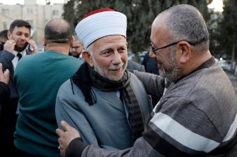Israel Tahan Ulama Masjid Al-Aqsa