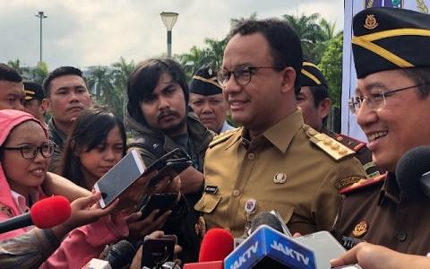 Anies Ingin Tarif MRT Terintegrasi