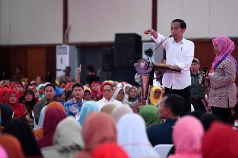 Presiden Ingin PKH Tingkatkan Gizi Anak
