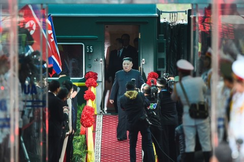 Kim Jong-un Tiba di Vietnam