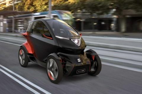 Seat Minimo Concept Gabungan Mobil dan Motor