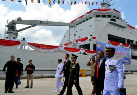 Menhan: KRI Teluk Lada Simbol Kemandirian Pertahanan