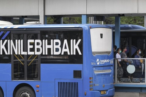 Menanti Pinangan Transjakarta