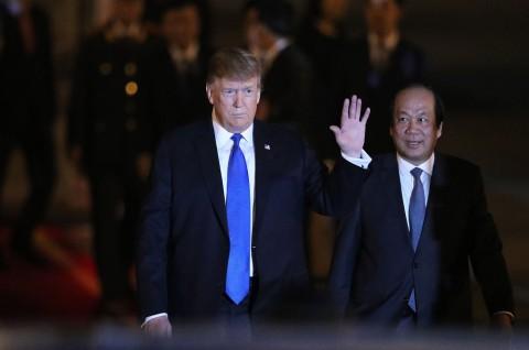 Trump akan Temui Presiden Vietnam Hari Ini