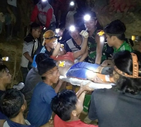 Kendala Evakuasi Penambang yang Tertimbun Tambang Bolmong