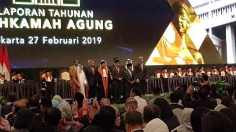 Jokowi Apresiasi Penerapan Teknologi di MA