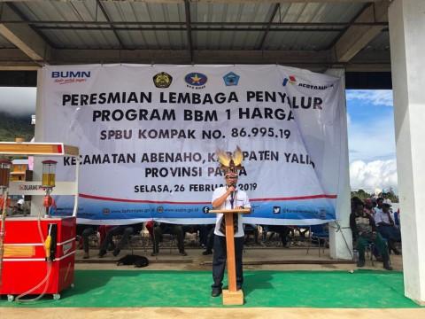BBM Satu Harga Rambah Yalimo dan Halmahera Timur