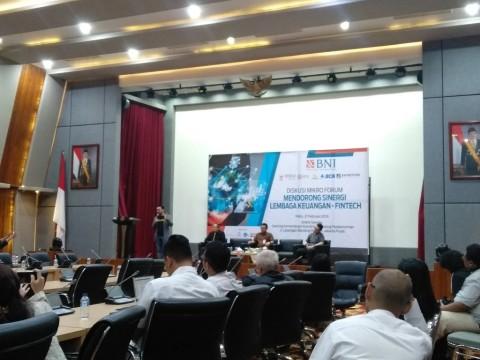 Penyaluran Pinjaman <i>Fintech</i> Capai Rp25 Triliun
