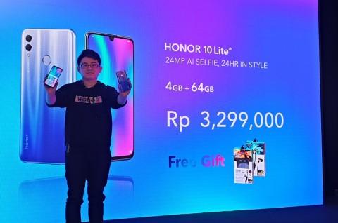 Honor 10 Lite Resmi Masuk Indonesia, Harganya?