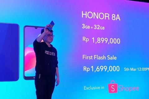 Honor 8A Sapa Konsumen Entry-Level Indonesia