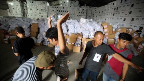 KPU Has Printed 542 Million Voting Ballots: Official
