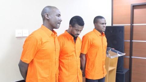 Penahanan 3 WNA Dipindahkan ke Rumah Deteni Imigrasi Manado