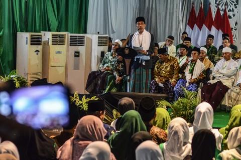 Buka Munas NU, Jokowi Janji Dirikan 1.000 BLK untuk Pesantren