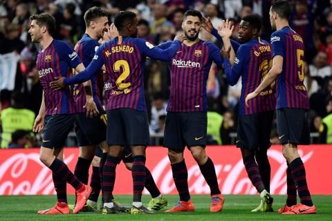 Permalukan Real Madrid, Barcelona Melenggang ke Final Copa del Rey