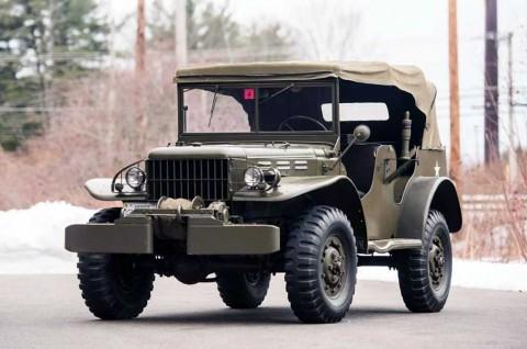 Masih Mulus, Ini Tampang Mobil Militer Klasik Dodge WC 1942
