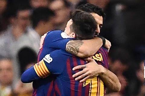 Libas Madrid 3-0, Barca ke Final Copa del Rey