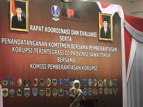Kepala Daerah se-Jatim Teken MoU denga KPK