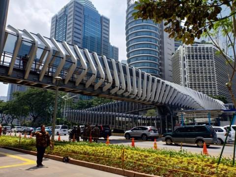 3 JPO Ikon Baru Jakarta Diresmikan