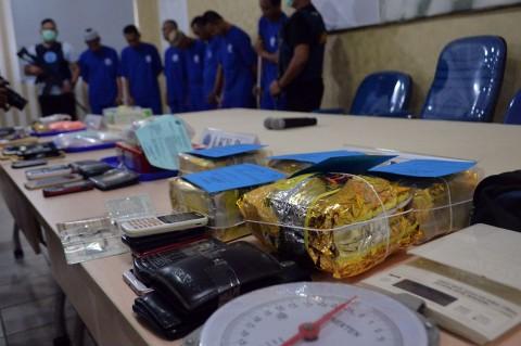 BNNP Lampung Ungkap Jaringan Sabu Asal Aceh