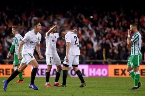 Tekuk Real Betis, Valencia Melaju ke Final Copa del Rey