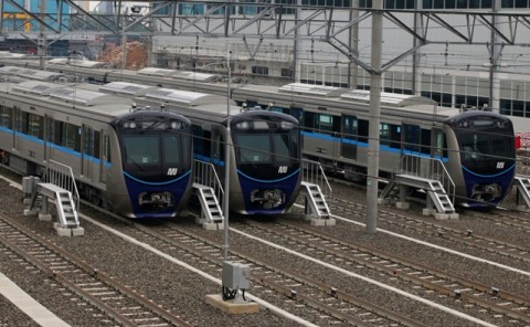 PT MRT Siapkan Area Khusus Ojek Online