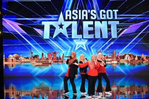Grup Vokal Berhijab asal Malaysia Curi Perhatian Anggun di Asia's Got Talent