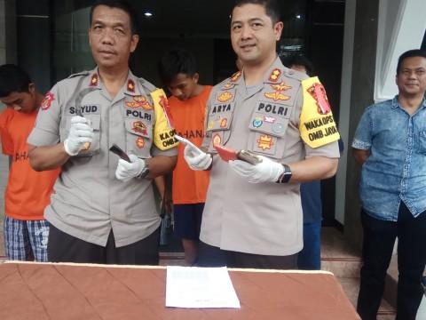 Polisi Ringkus Kelompok Begal Ponsel di Depok