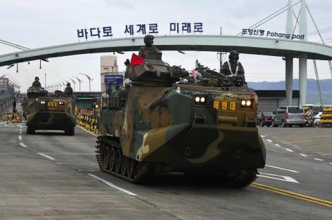 AS dan Korsel Akan Hentikan Latihan Militer Besar