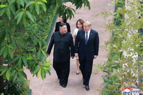 Tidak Sebut Nama Kim, Trump Salahkan Korut atas Kematian Otto