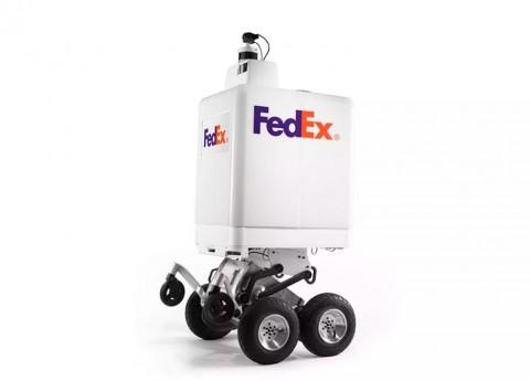FedEx Ciptakan Robot Pengantar Barang