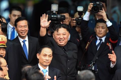 Kim Jong Un Kembali ke Negaranya