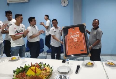 NSH Jakarta Gelar Syukuran Jelang Hadapi Semifinal IBL