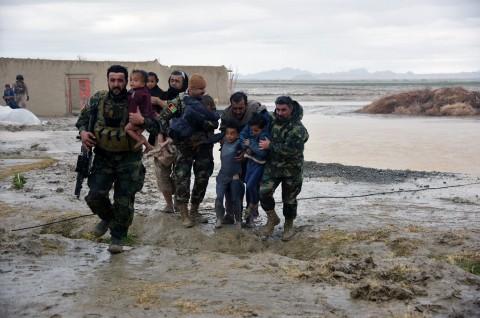 Banjir Bandang di Afghanistan Tewaskan 20 Orang