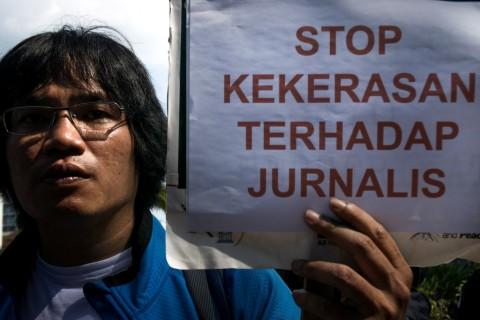 LBH Pers Minta Polisi Usut Kasus Kekerasan Jurnalis