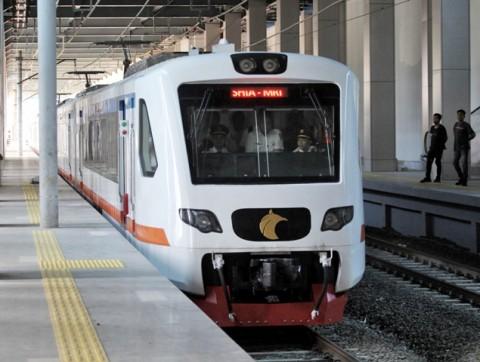 Kereta Bandara Beroperasi Sampai Manggarai