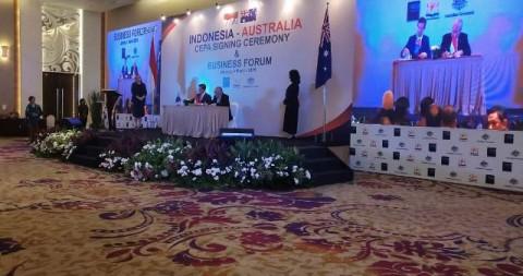 Indonesia Australia Teken Perjanjian Dagang