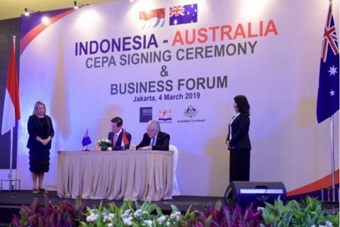 Indonesia, Australia sign Comprehensive Economic Partnership